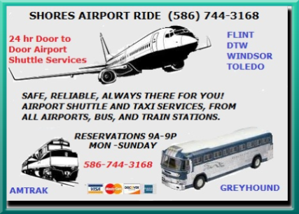 Airport Shuttle Detroit